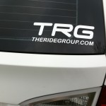 TRG Window Decal