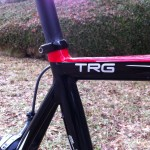 TRG bike decal